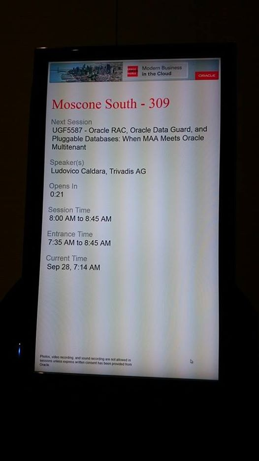 MAA+MT session at OOW14