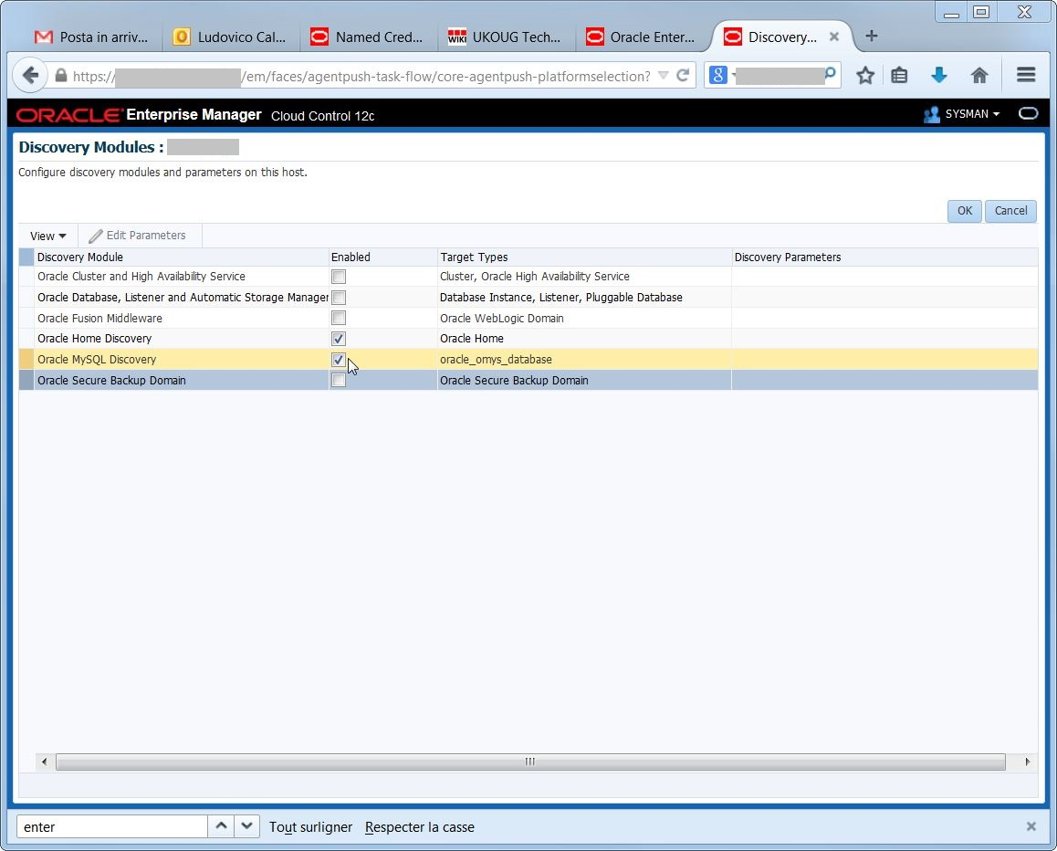 Configuring the MySQL Database Plug-In for Oracle Enterprise Manager