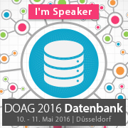 I'm speaking at #DOAGDB16