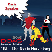 I'm speaking at #DOAG16